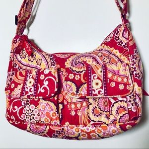 Vera Bradley bag with matching pouch